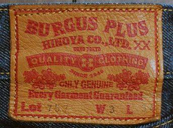 BURGUS PLUS Lot.757のパッチ