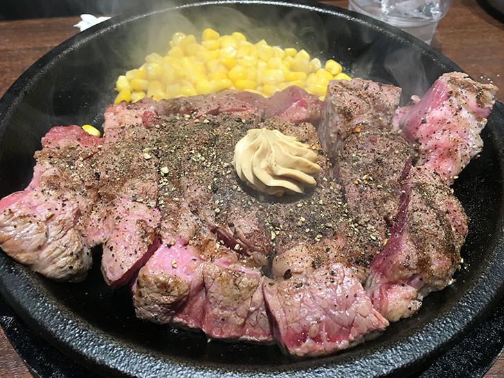 いきなりステーキのワイルドステーキ450グラム