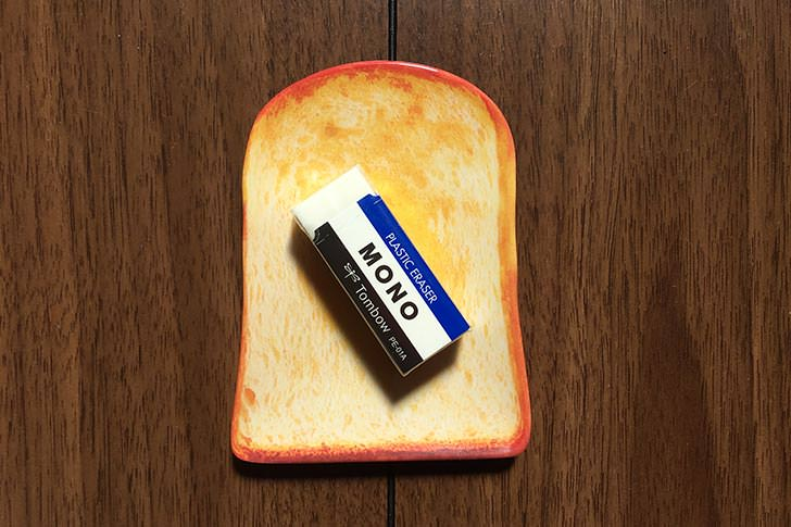 バタートーストのちいさなお皿