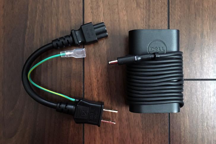 ACアダプタと電源コード