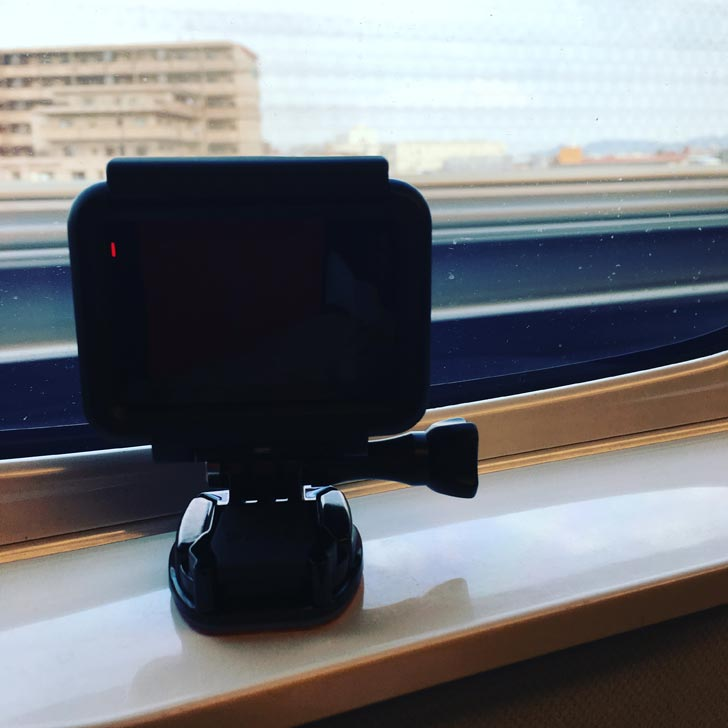 GoProを使ってタイムラプス