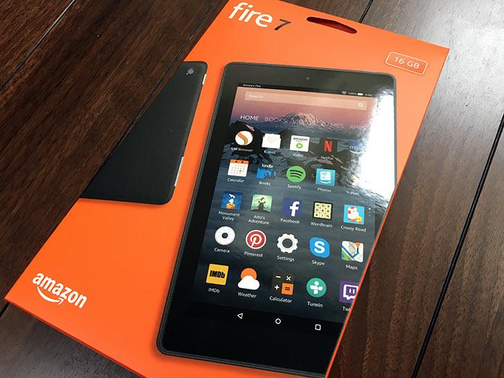 Fire7タブレット 2017年モデル