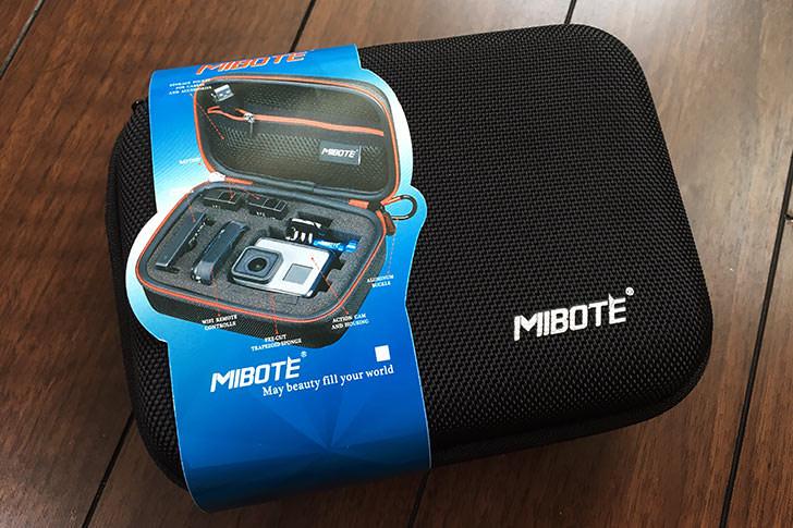 MIBOTE Gopro HERO 5/4/3専用収納バッグ