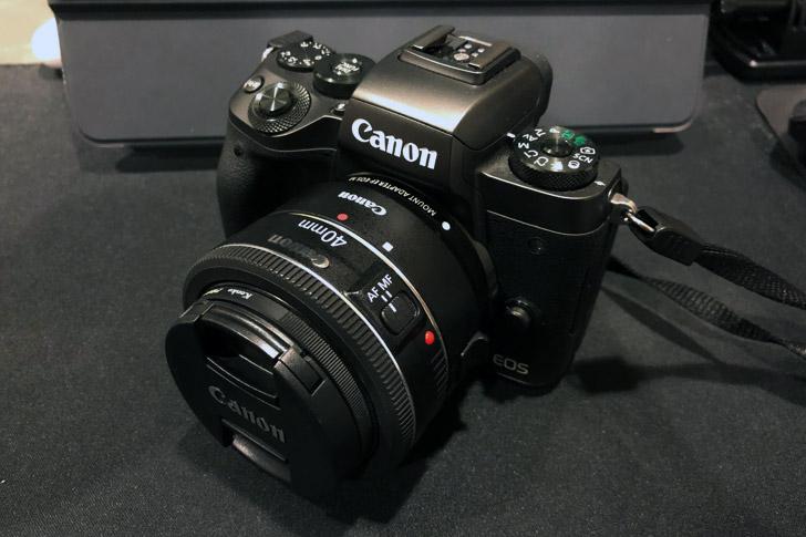 EOS M5とEF 40mm f2.8 STM