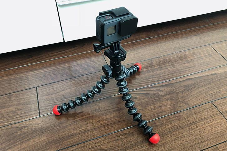 GoProを載せて見る