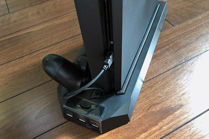 USBポートから電源を供給
