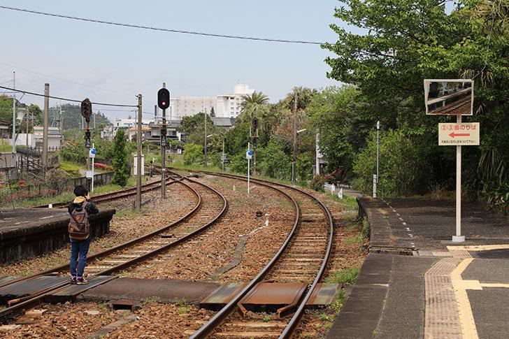 青島から宮崎への電車は本数が少ない