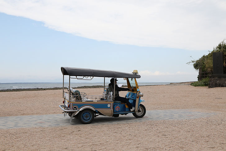青島はトゥクトゥクで回れる