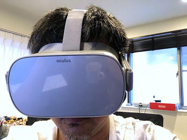 Oculus Goのつけ心地