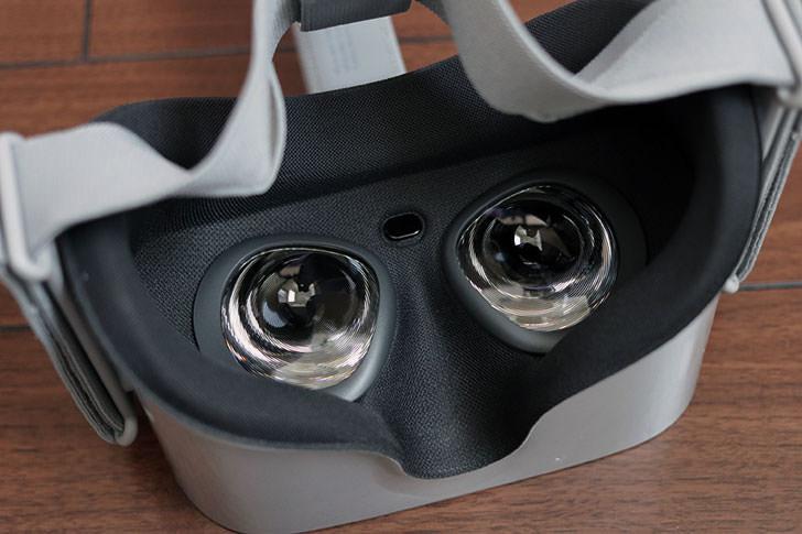 Oculus Goのレンズ