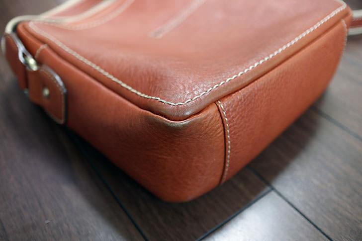 土屋鞄製造所 トーンオイルヌメ ジップトップショルダー
