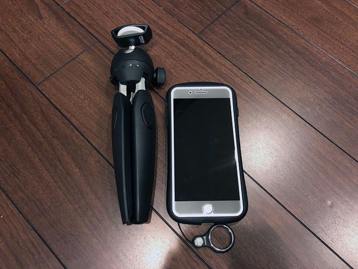 iPhone8Plusとのサイズ比較