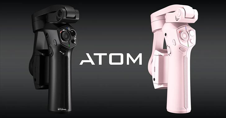 ATOM: A pocket-sized 3-axis smartphone gimbal