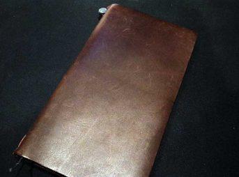 手入れ後のトラベラーズノート