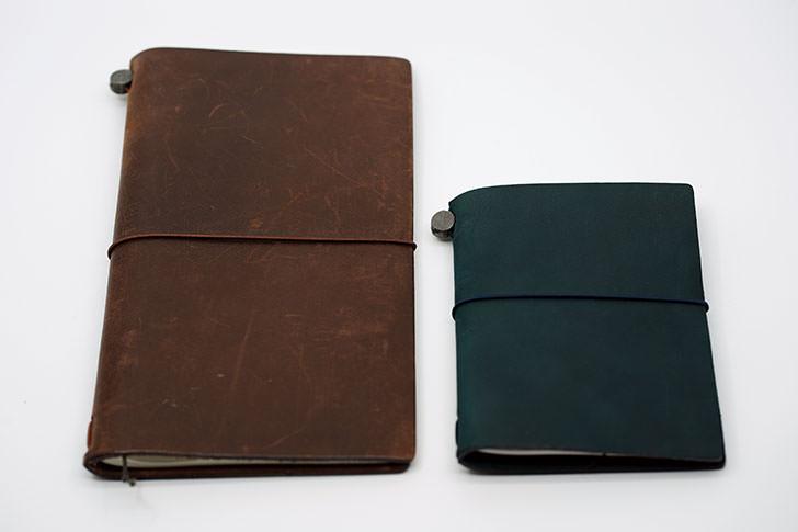 トラベラーズノート パスポートサイズ ブルー