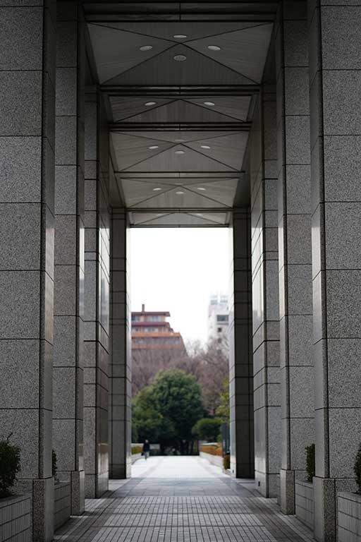 FE85mmF1.8 都庁にて
