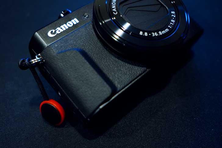 Canon PowerShot G7X mk IIとピークデザイン アンカーリンクス