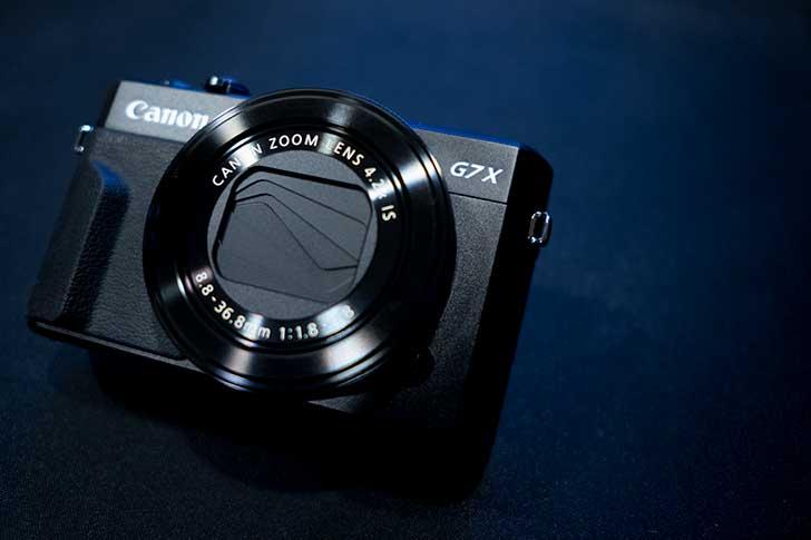 PowerShot G7X mark2