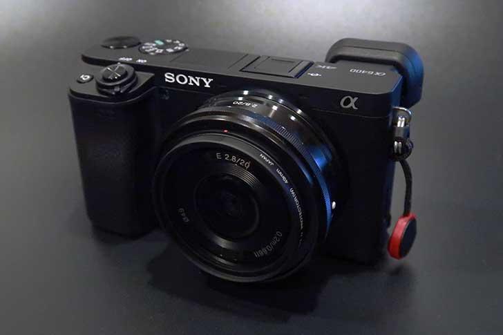 α6400と20mm f2.8