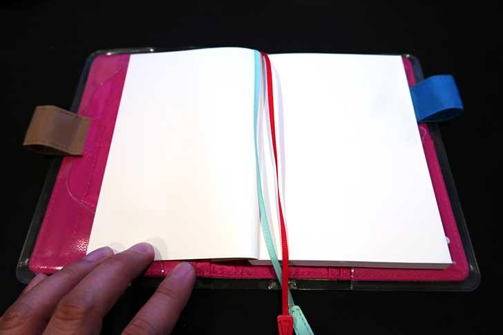 ほぼ日手帳マザー2に文庫本ノートを入れる
