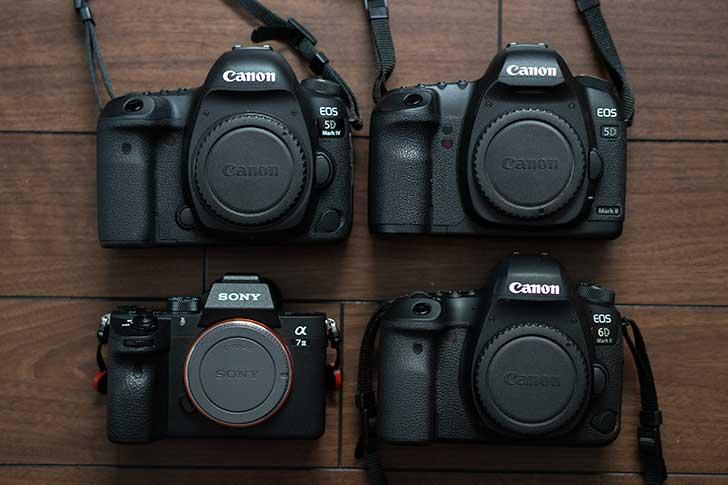 CanonからSonyへマウントチェンジ