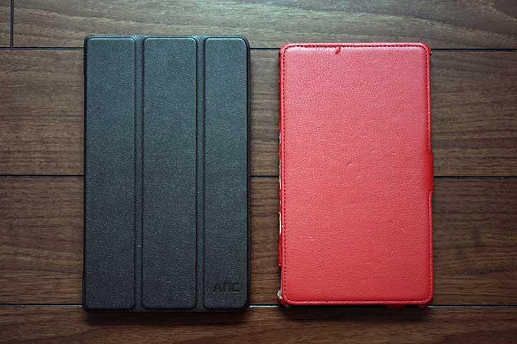 ZenPad 8.0とNexus7の比較
