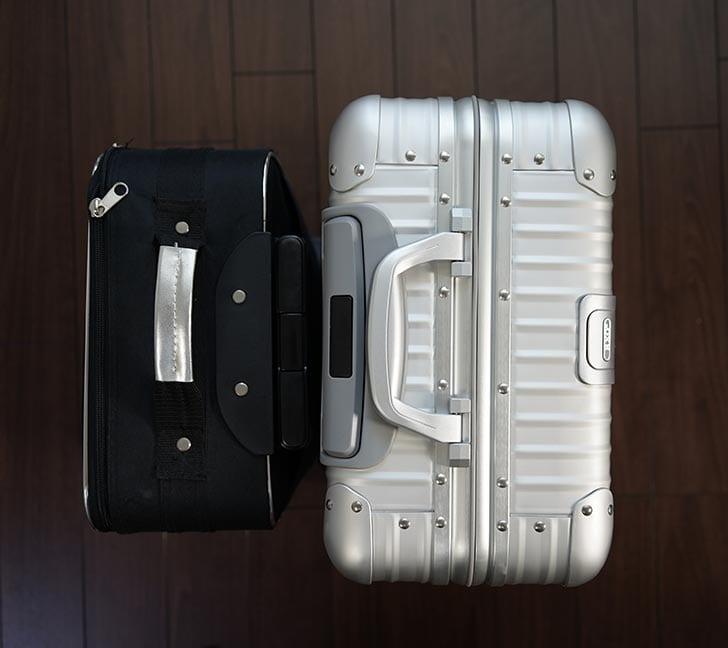 スーツケースのサイズ比較