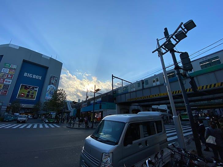 iPhone11の超広角レンズ