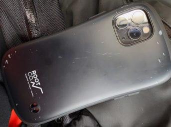 落としてしまったiPhone 11 Pro