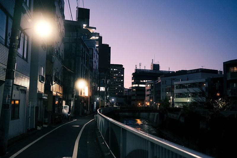 神田川沿い